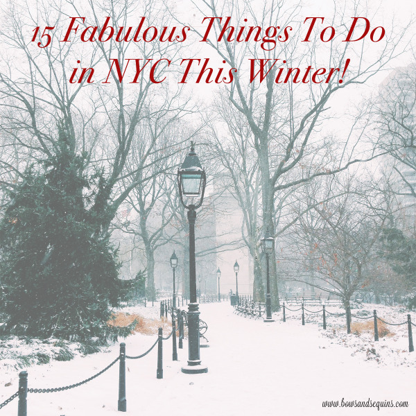things to do in new york during the winter holidays
