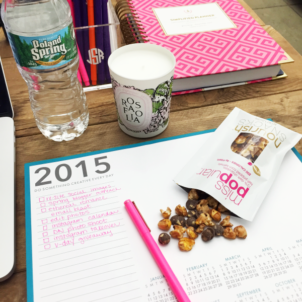 paper source desk pad simplified planner nourish snacks