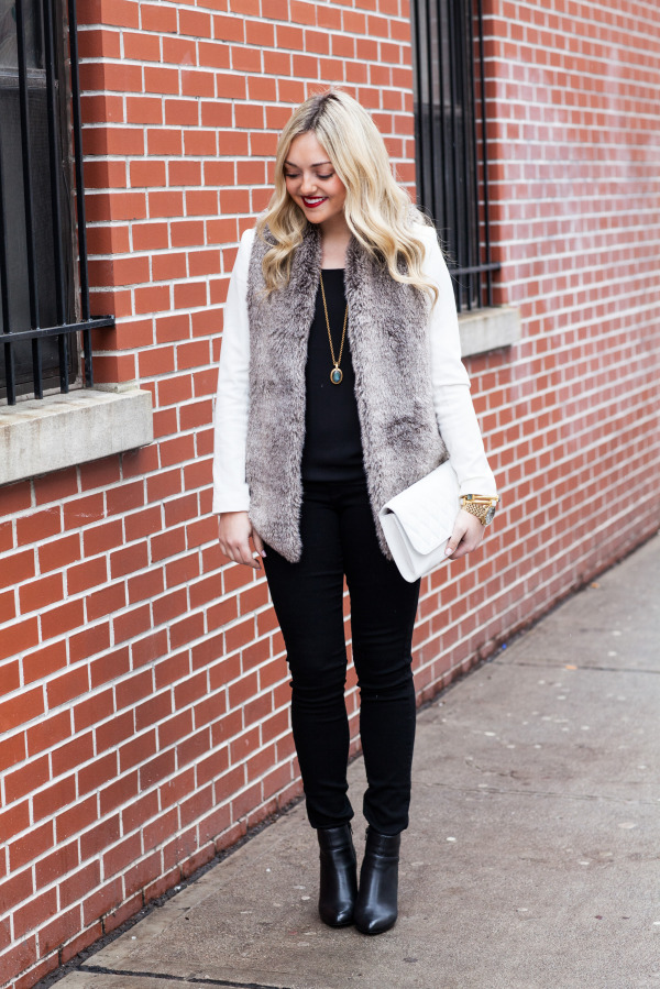 winter going out outfit