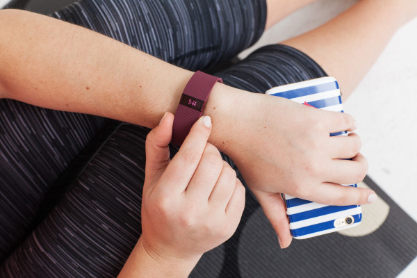 fitbit charge burgundy band