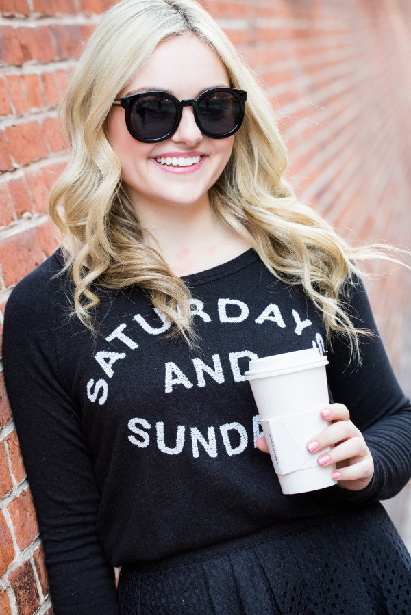 saturdays and sundays sweatshirt boutique