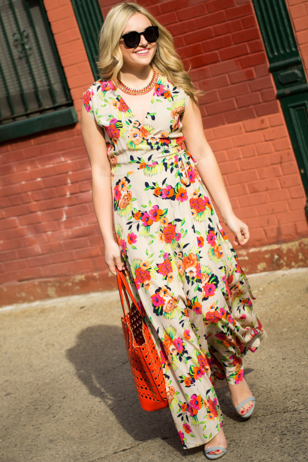 yumi kim peonies maxi dress