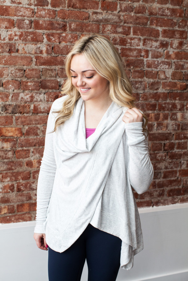 alo yoga cardigan