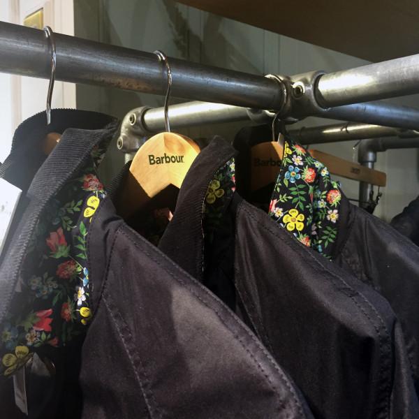 barbour jacket liberty london lining