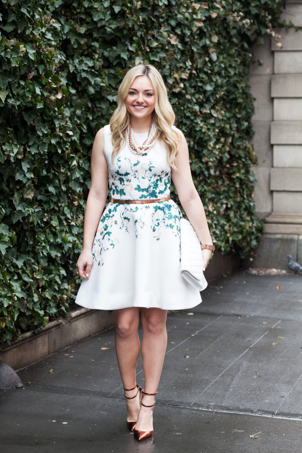 erin fetherston floral and ivy white dress