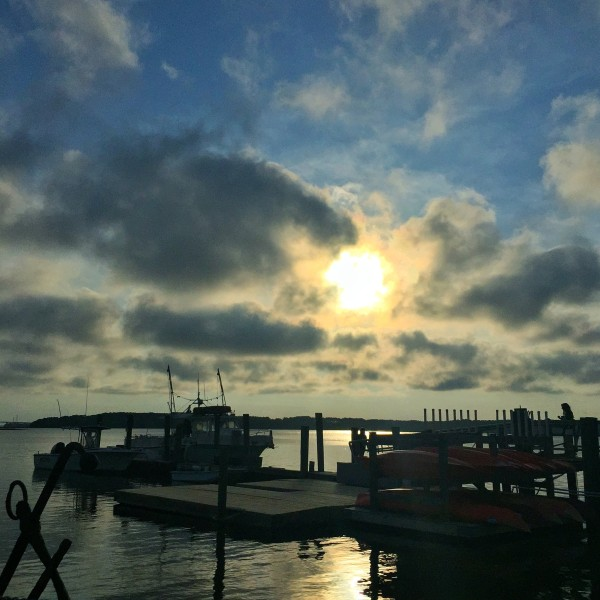 hudsons hilton head island sunset