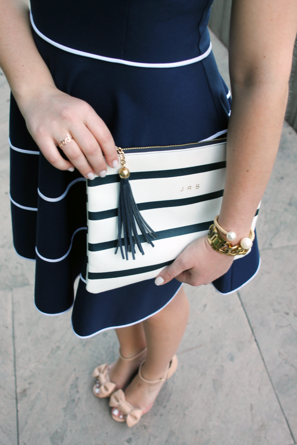 navy-and-white-stripes-bow-sandals
