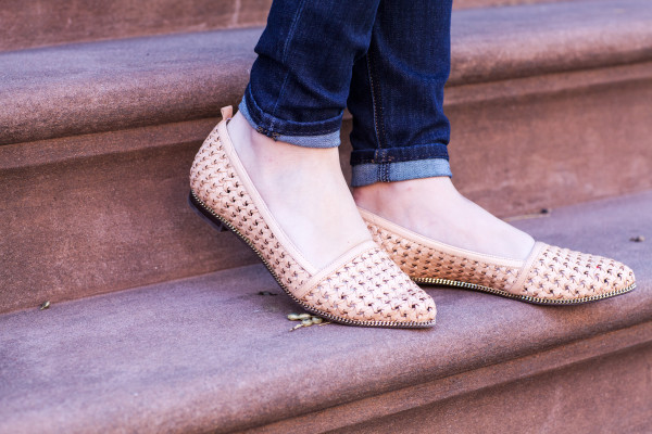 nude flats comfortable spring
