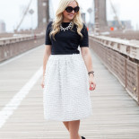 Brooklyn Bridge in a Bow Skirt