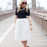 Brooklyn Bridge in a Bow Skirt