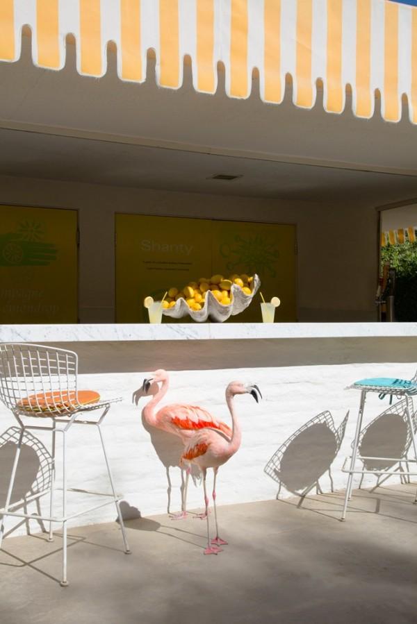 gray malin flamingos lemonade stand