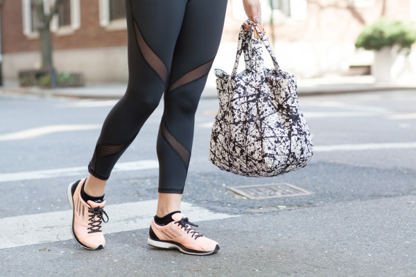 michi leggings, mz wallace tote