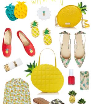 pineapple-flats-bag-earrings