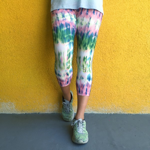 prismsport printed watercolor workout leggings