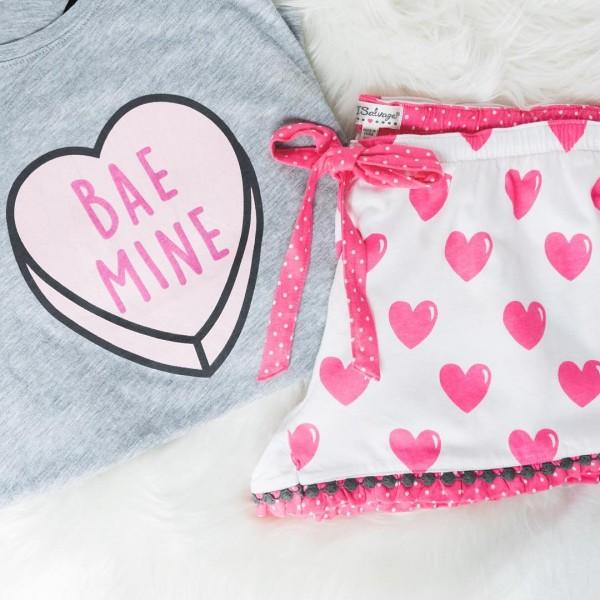 Bae my Valentine?! Shop these pretty PJs wwwliketkit28xBN liketkit valentinesdayhellip