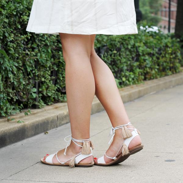 loeffler randall fringe sandals