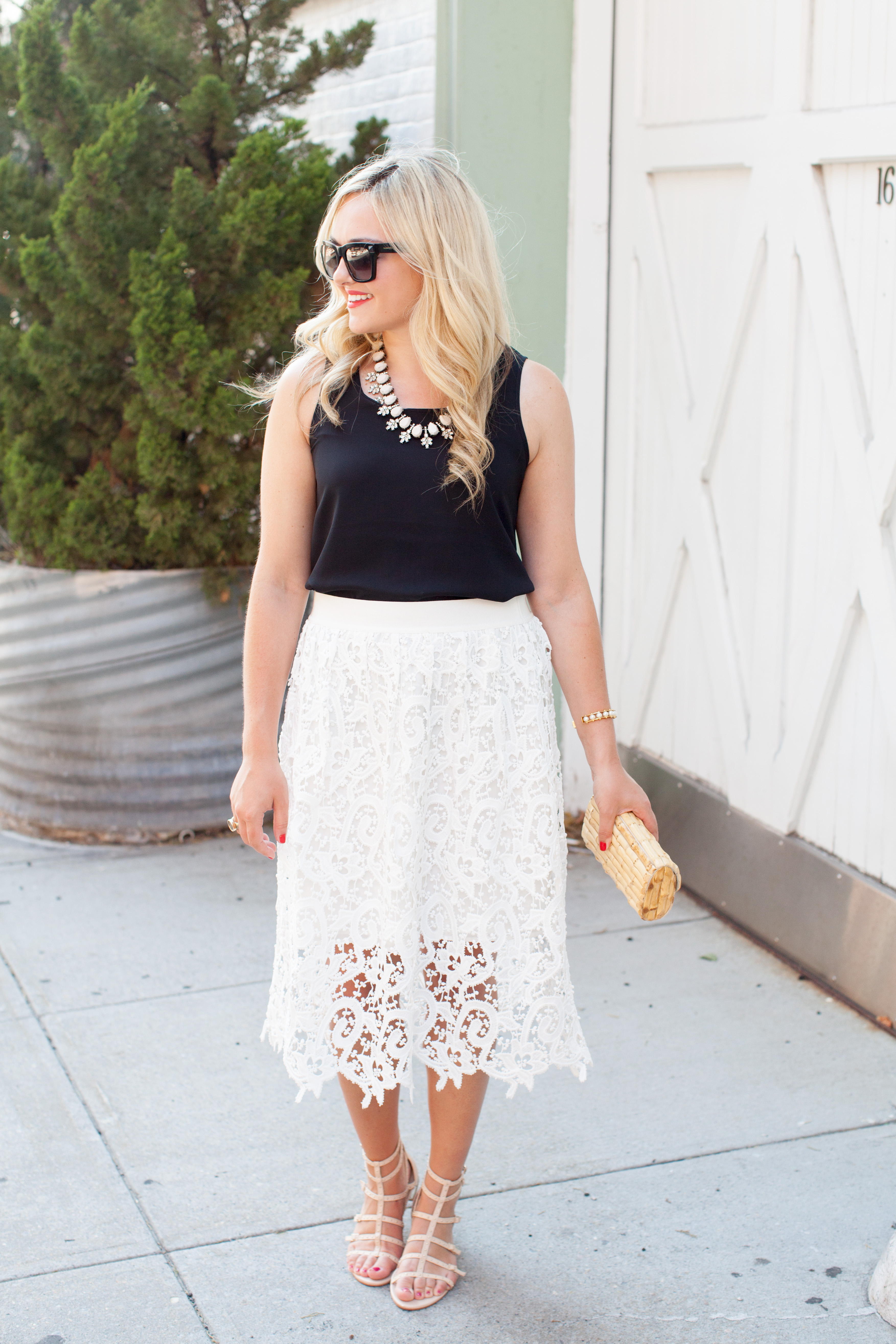 What To Wear With A White Skirt 75