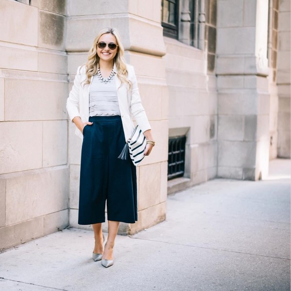 Is it 5 oclock yet?!  Styled these culottes forhellip