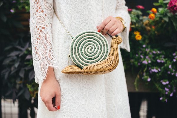 kate spade wicker snail bag spring 2015