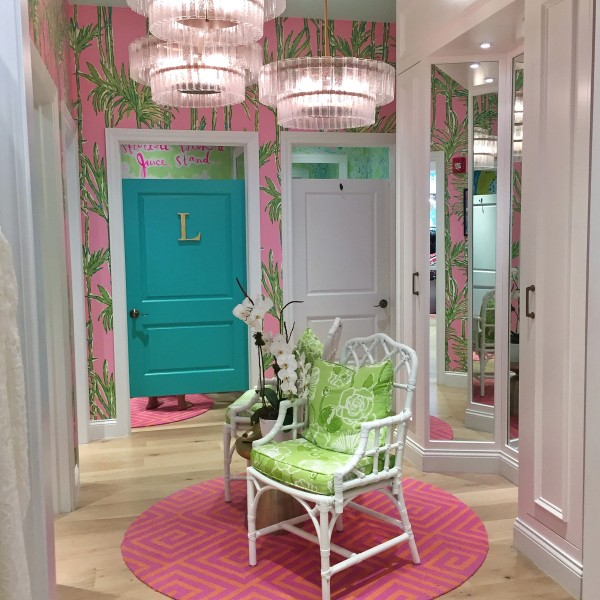 lilly pulitzer dressing room decor palm beach