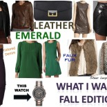 What I Want: Fall Edition