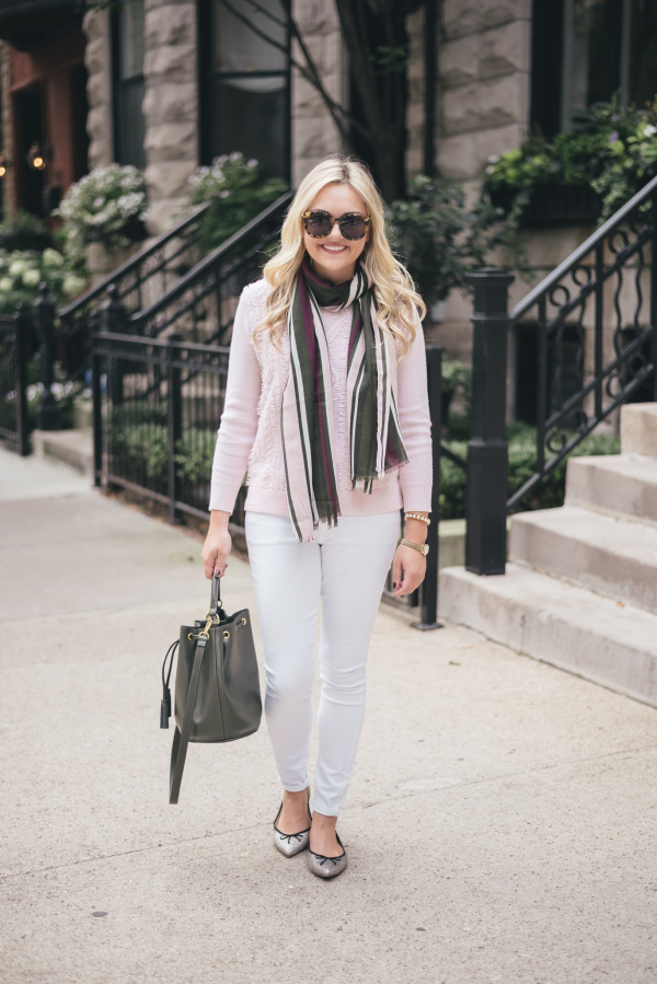 blush-pink-olive-green-outfit