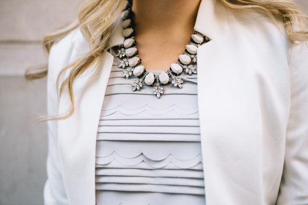 bauble-bar-statement-necklace,-scalloped-tank,-notched-white-blazer