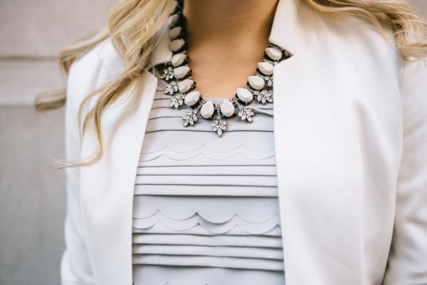 bauble-bar-statement-necklace,-scalloped-tank,-notched-white-blazer