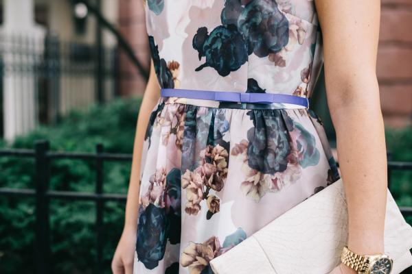 fall-floral-print-dress