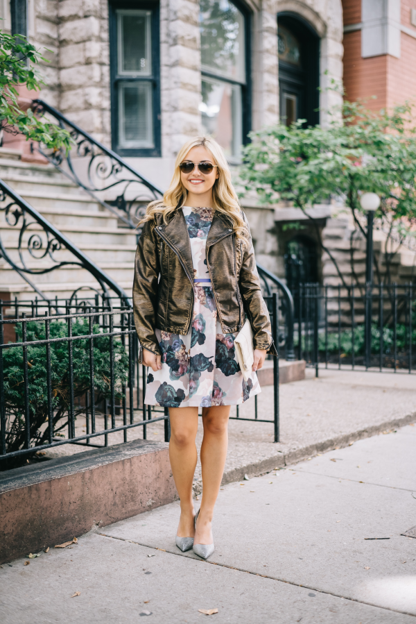 floral-dress-moto-leather-jacket-fall