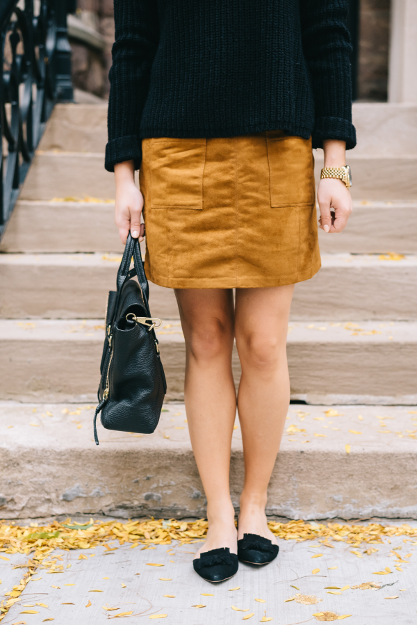 outfit-to-wear-with-a-suede-skirt