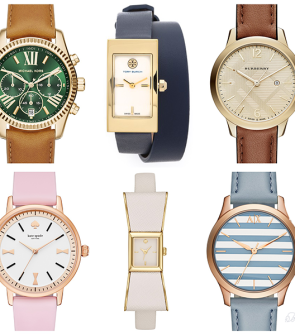womens-fall-watches-pink-bow-stripes-french-blue