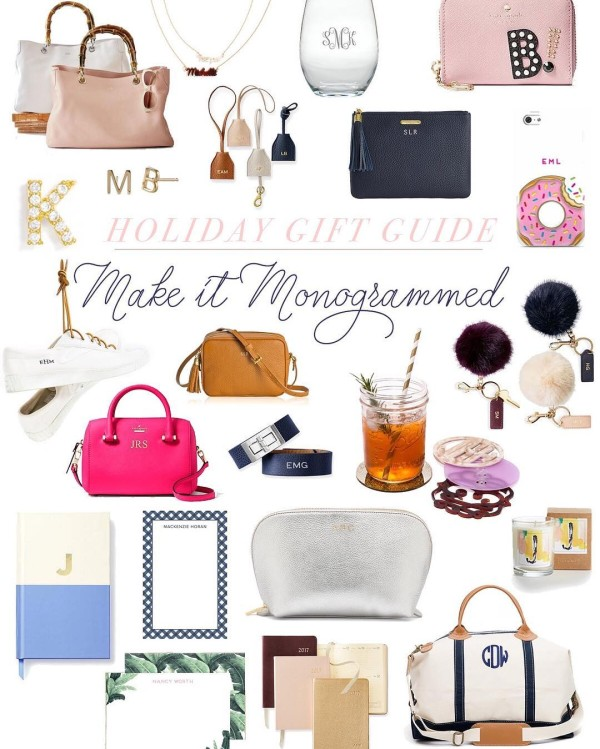 My favorite monogrammed gifts are on the blog today! FYIhellip