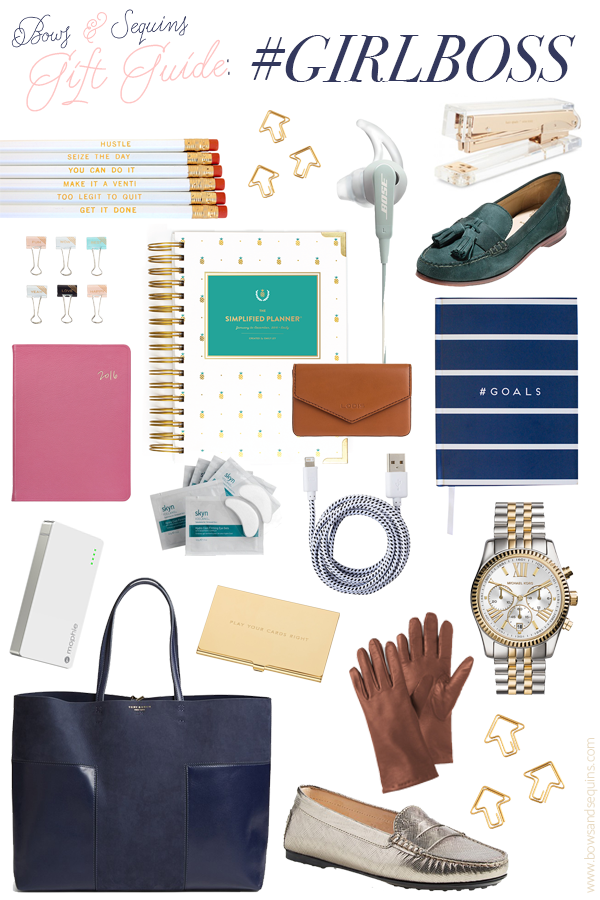 Gift Guide: #GIRLBOSS — bows & sequins