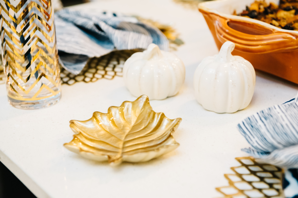 gold-leaf-dish-thanksgiving-white-pumpkin-salt-and-pepper-shakers