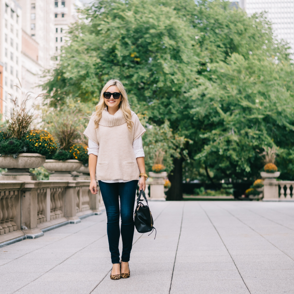 how-to-wear-jeans-to-work-outfit