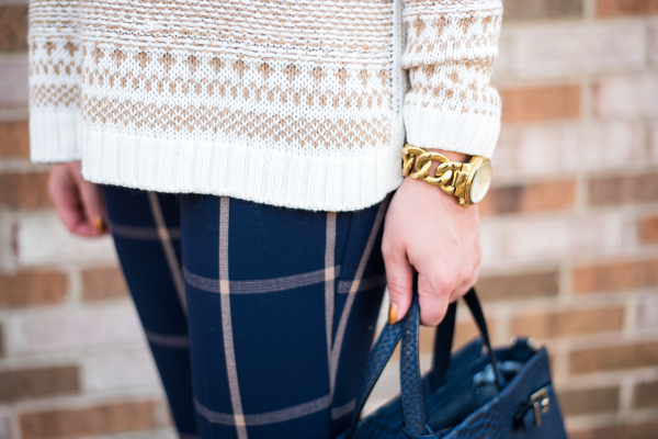 mixing-prints-fair-isle-sweater