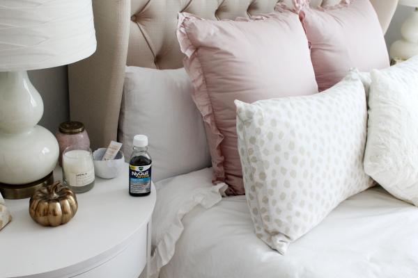 parisian feminine bedroom decor white ruffled blush pink