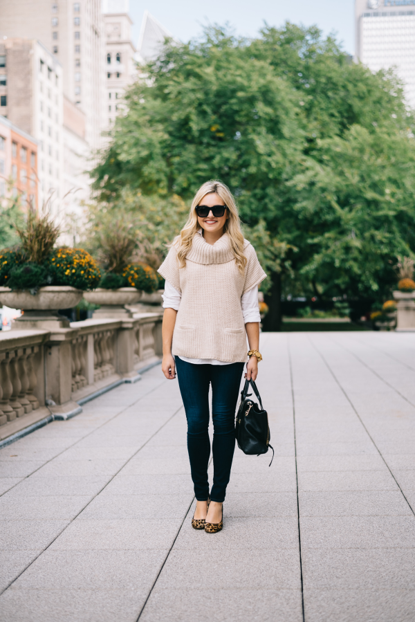 short-sleeve-cowl-neck-sweater