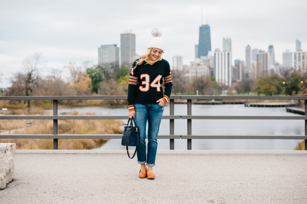 what to wear to a bears game
