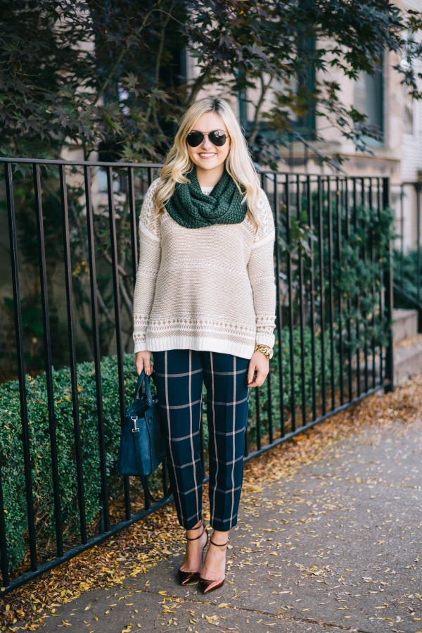 windowpane-striped-trouser-pants-fall-outfit