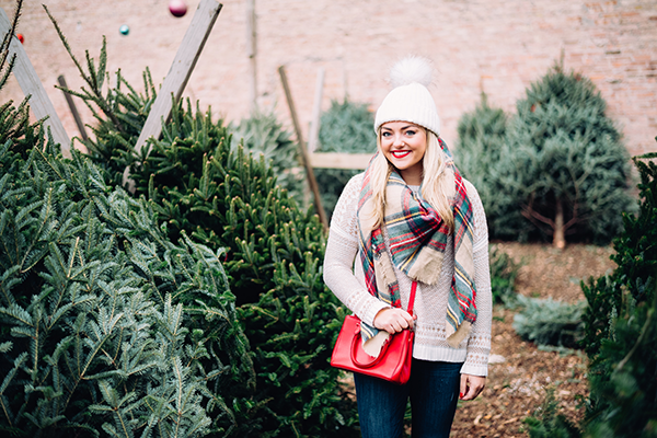 what to wear to a christmas tree farm