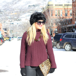 Faux Fur Hat in Aspen