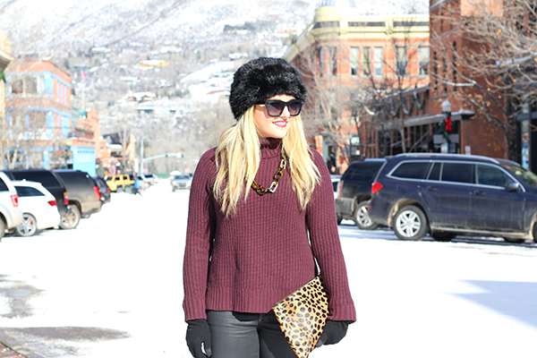 aspen colorado fashion fur hat