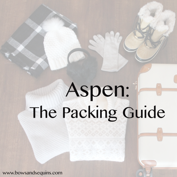 aspen packing guide