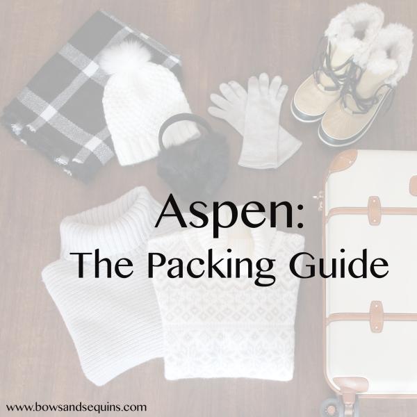 aspen packing guide