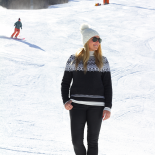 Ski Sweater on the Slopes