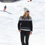 Ski Sweater on the Slopes