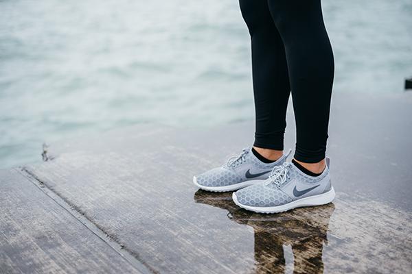 nike juvenate sneakers grey