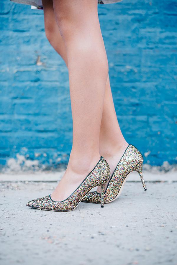 jcrew glitter heels
